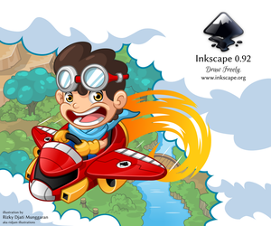 Inkscape 0.92 About Screen by ridjam by RIDJAM