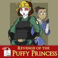 Revenge of the Puffy Princess by x-22