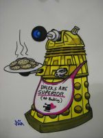 Commission - Dalek Cookies by Sideways8Studios