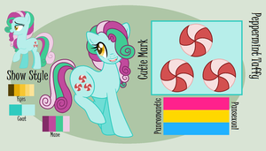 LyraBon Reference Sheet Commission by ficklepickle9421