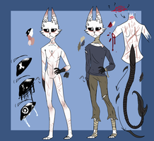 OLD  X/ Xavier Reference sheet by Wolfsprirt