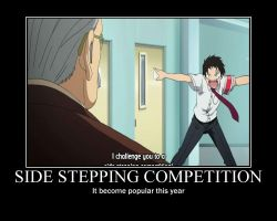 Side Stepping Competition by Justfansxxx