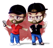 Smitty And Jives Chibies by Lucora