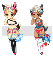 DAINTY COLLAB- BEACH BOYS- {CLOSED} by Pajuxi-Adopts