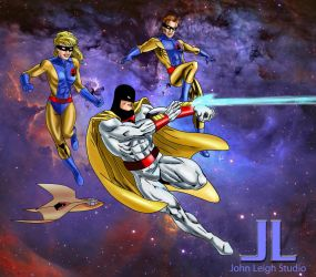 New SPACE GHOST2015 by johnleighs01