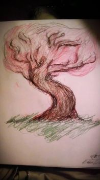 Pink tree by swahiligiant