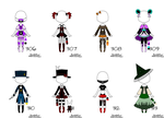 [OPEN] Outfit Adopts 306-313 by ambryladoptable