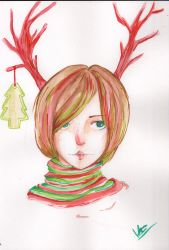 Merry Christmas 2012! by tealchartreuse