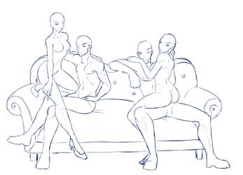 Base Sketch Fix - Couch Gang by Shadow-Bases