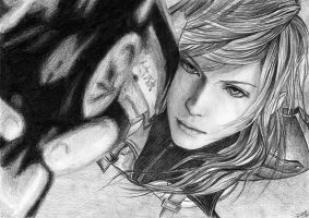 Final Fantasy XIII - Girl1 by chillerofhell