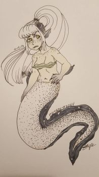 Piper the pepper moray eel by p0tat0-bitch
