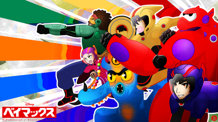 We Could Be Immortals    BIG HERO 6 by hjpenndragon