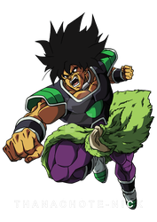 Broly Attack! - DBS [COLOR] by Thanachote-Nick