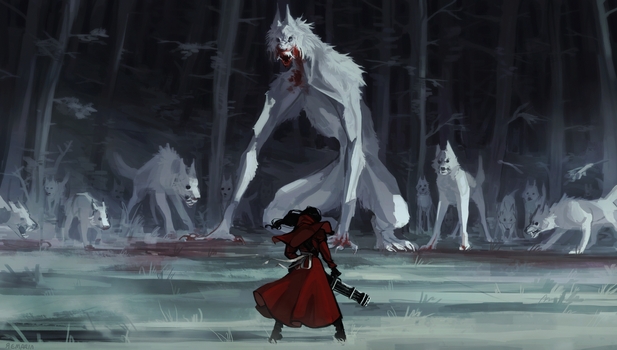 Red Riding Hood. by Remarin