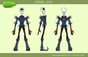 Skull Jax Turn Around by TheInsaneDingo