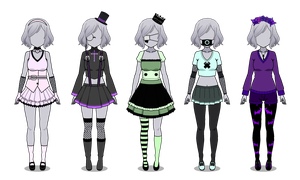 Kisekae Pastel Goth Outfit Exports #1 by Tato-Ch4n
