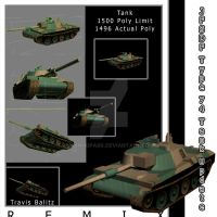 JFSDF-TYPE 74 Tank REMIX by ManHoPark