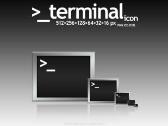 _terminal icon by KillboxGraphics