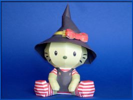 Hello Witch Papercraft by Skele-kitty