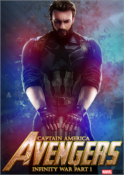 Capitain America Infinity War Wallpaper by thiagoarantes20