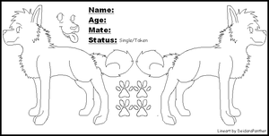 Wolf Reference Sheet Base by boxes-of-foxxes