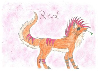 Red Skin Charakter Sheet by BlackHorse9