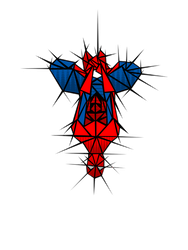Abstract webslinger by yayzus