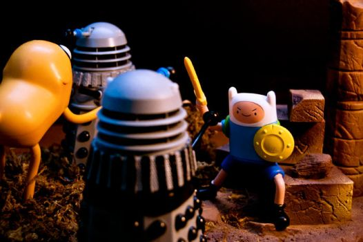 The Dalek Invasion of Ooo by Batced