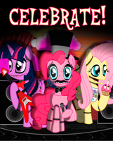 Five Nights At Pinkie's Office Poster by XLightning-Dash3rX