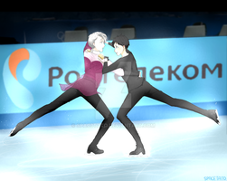 Yuri!!! On Ice by SPAC3TATO