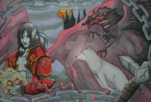 Castlevania Lords Of shadow by ArGe