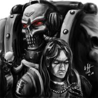 Inquisitor and Chaplain by tyrantwache