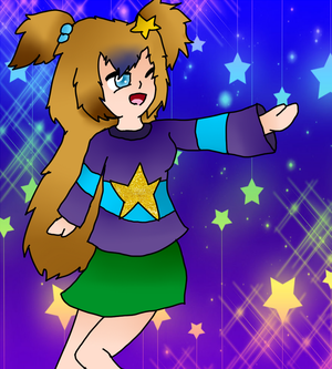 Airi (Art Trade) by MangaMelly
