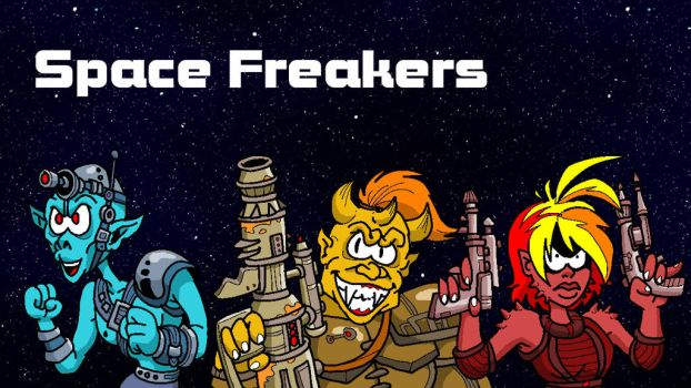 Space Freakers by MarionPoinsot34