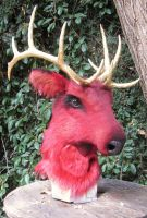 Red Elk by LilleahWest