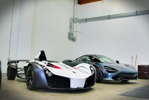 BAC Mono and Friend by SeanTheCarSpotter