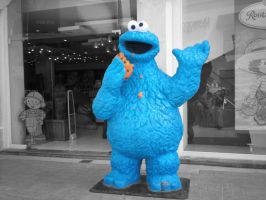 cookie monster by gabbyLZ