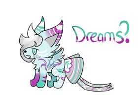 Dreams?|Ribbonfox Auction [CLOSED] by lucky-be-me