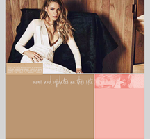 Ordered Layout ft. Blake Lively by Kate-Mikaelson
