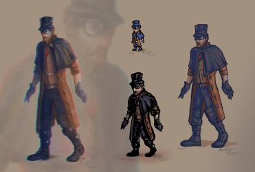 Styles - Victorian Agent by velaine