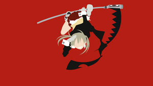 Soul Eater - Maka Albarn minimalism wallpaper by Carionto