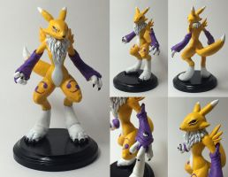 Custom Renamon Figure by GhostAegis