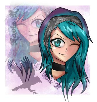 New self avi (totally now the wrong hair color XD by EmmalineEucliffe