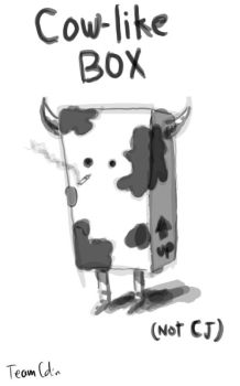Cow-Like Box by TeamColin