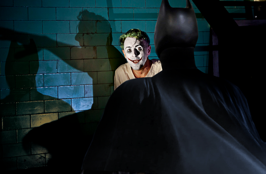 A Visit To Arkham by webhead9707