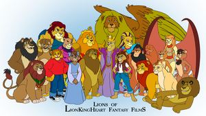 Lions of LKHFF by RetroUniverseArt