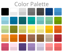 Color Palette (With Shades) by Devonix