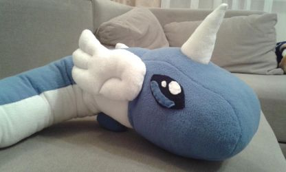 Dragonair Plush Close up by Darrthy