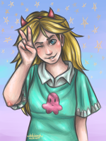Star Butterfly by pessimiist
