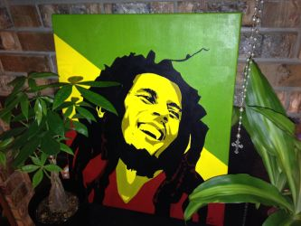 Bob Marley by Wesson87